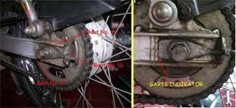 Setel Rantai Motor