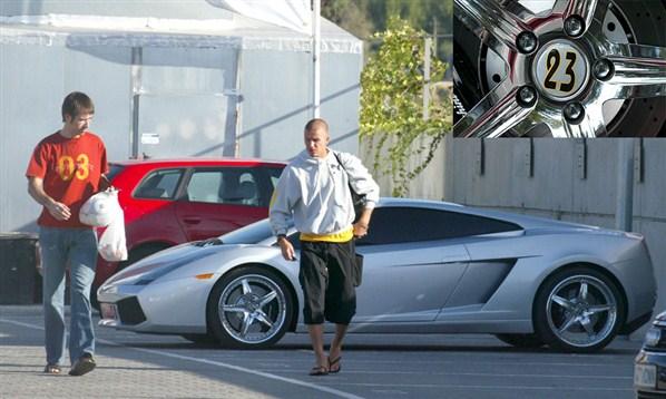 Lamborghini Gallardo David Beckham