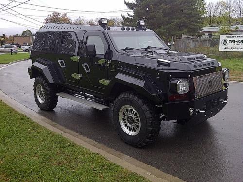 Mobil Anti Peluru Conquest Knight XV