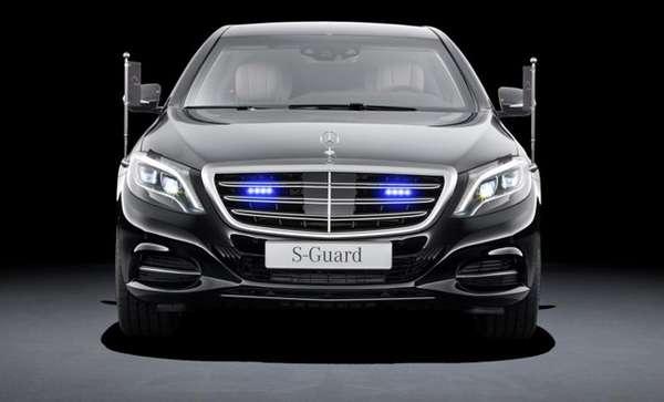 Mobil Anti Peluru Mercedes