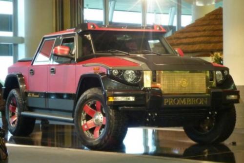 Mobil anti peluru  Dartz Prombron.