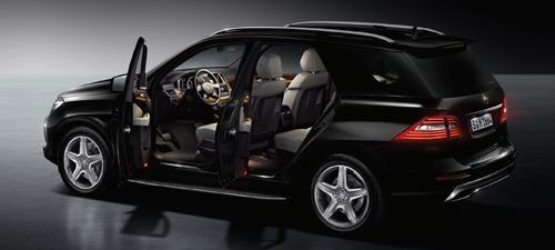 Mobil anti peluru Mercedes-Benz M-Class Guard