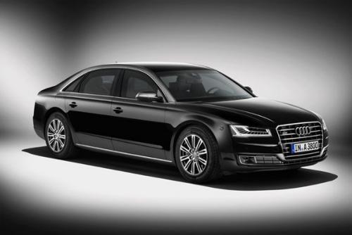 Mobil anti peluruh Audi A8 L Security