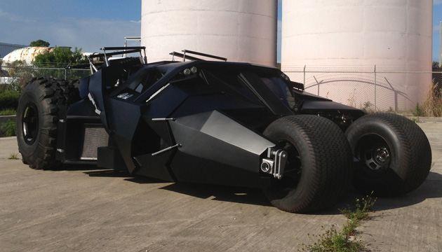 gambar mobil batman