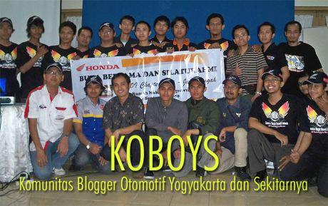 Komunitas Blogger otomotif jogja