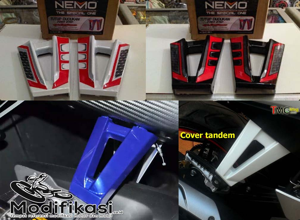 Jual Cover tandem bracket footstep