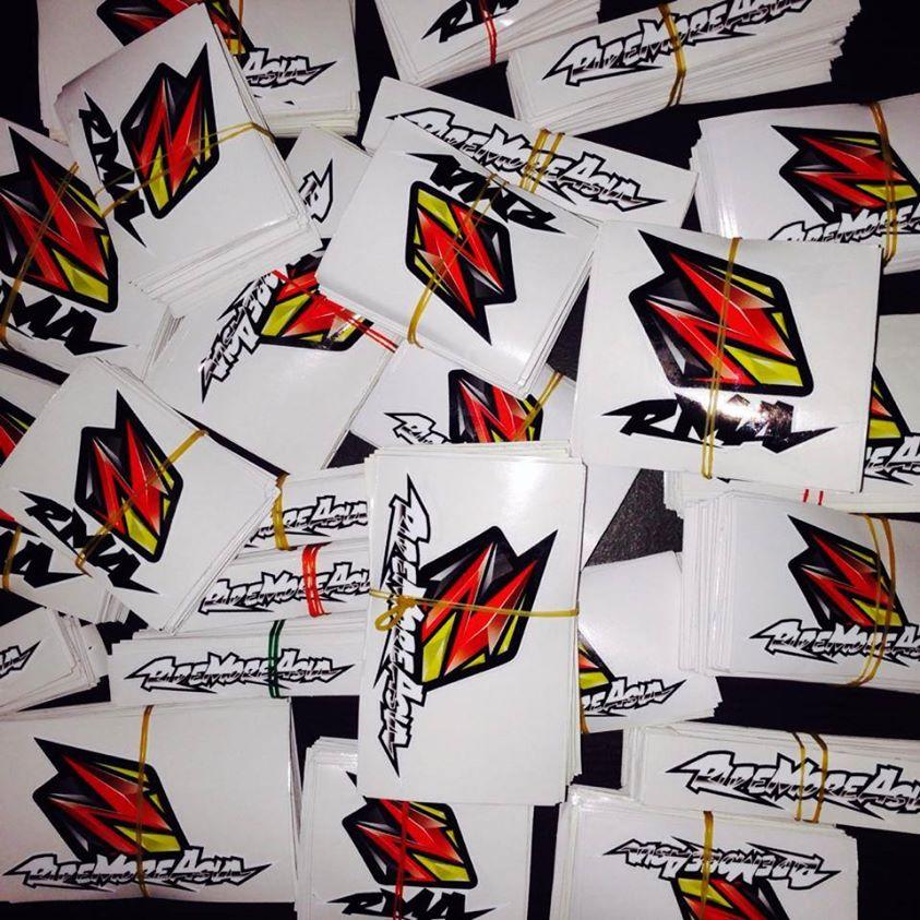 Stiker custom jerseys RMA Jogja