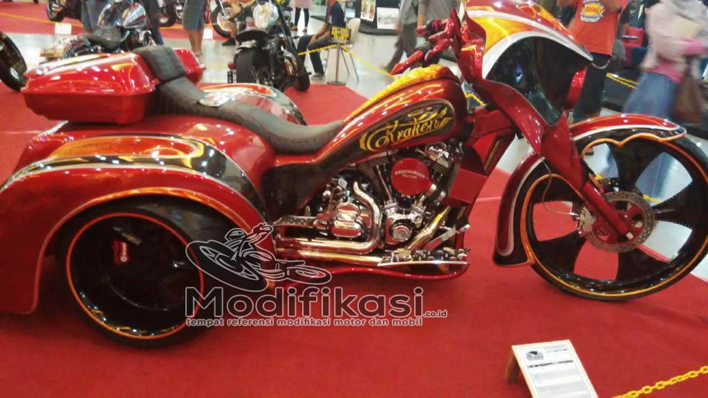 modifikasi harley davidson chopper
