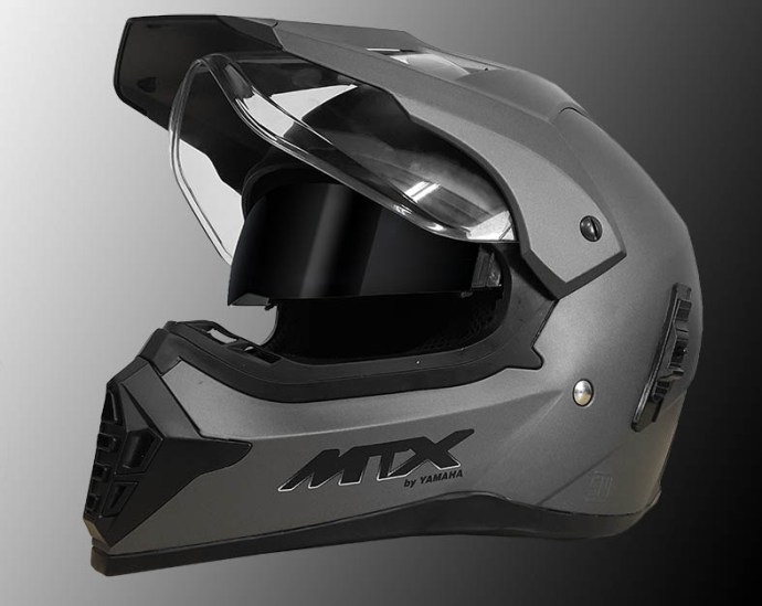 helm-MTX-Matt-grey Terbaru