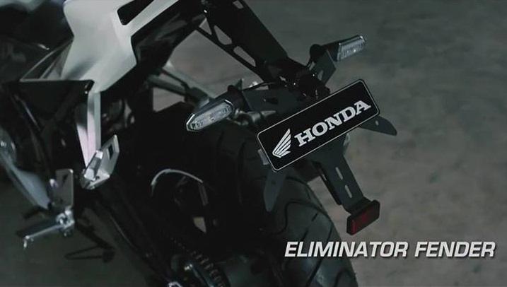 Aksesoris All New Honda CBR150R 2016