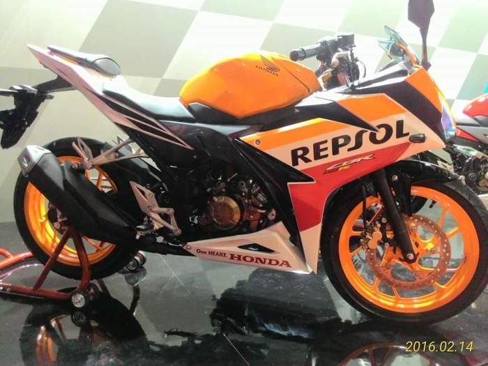 All New Honda CBR 150 R Repsol