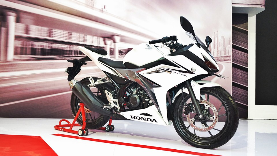 All New Honda CBR R 150 2016 Putih