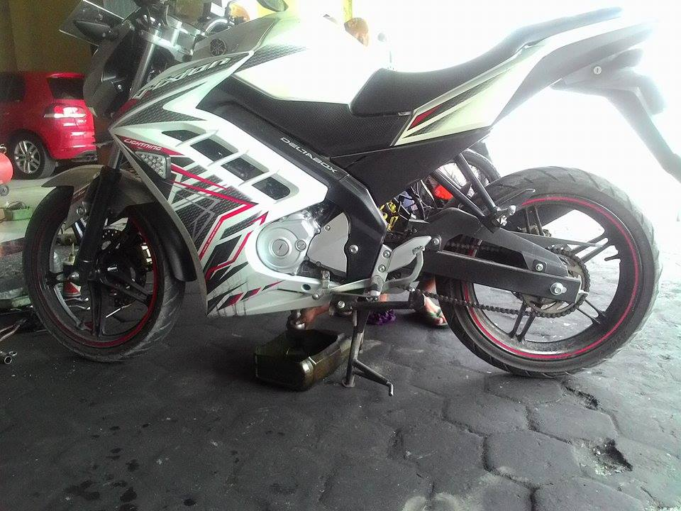 Full Fairing New Vixion Lightning Model Ninja 250 FI