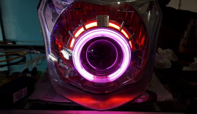 Lampu Projie Vixion