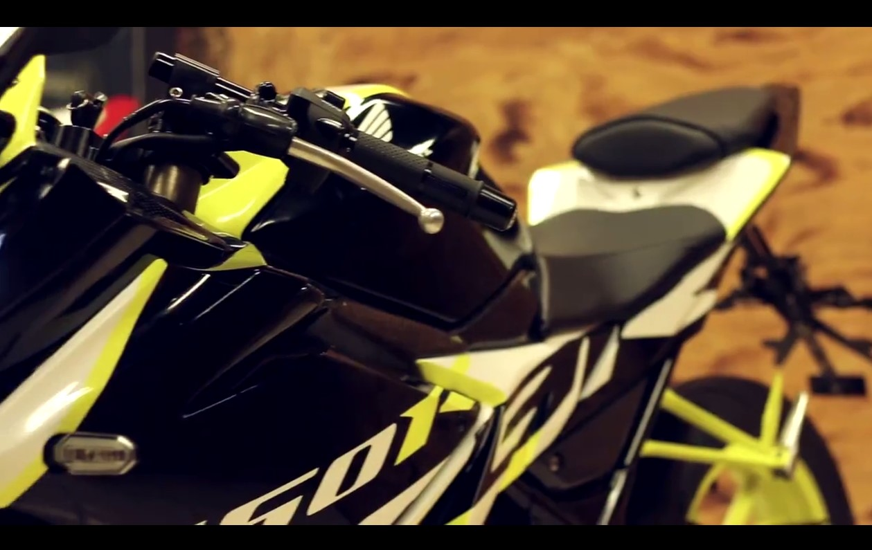 Modifikasi All New CBR 2016  Concept