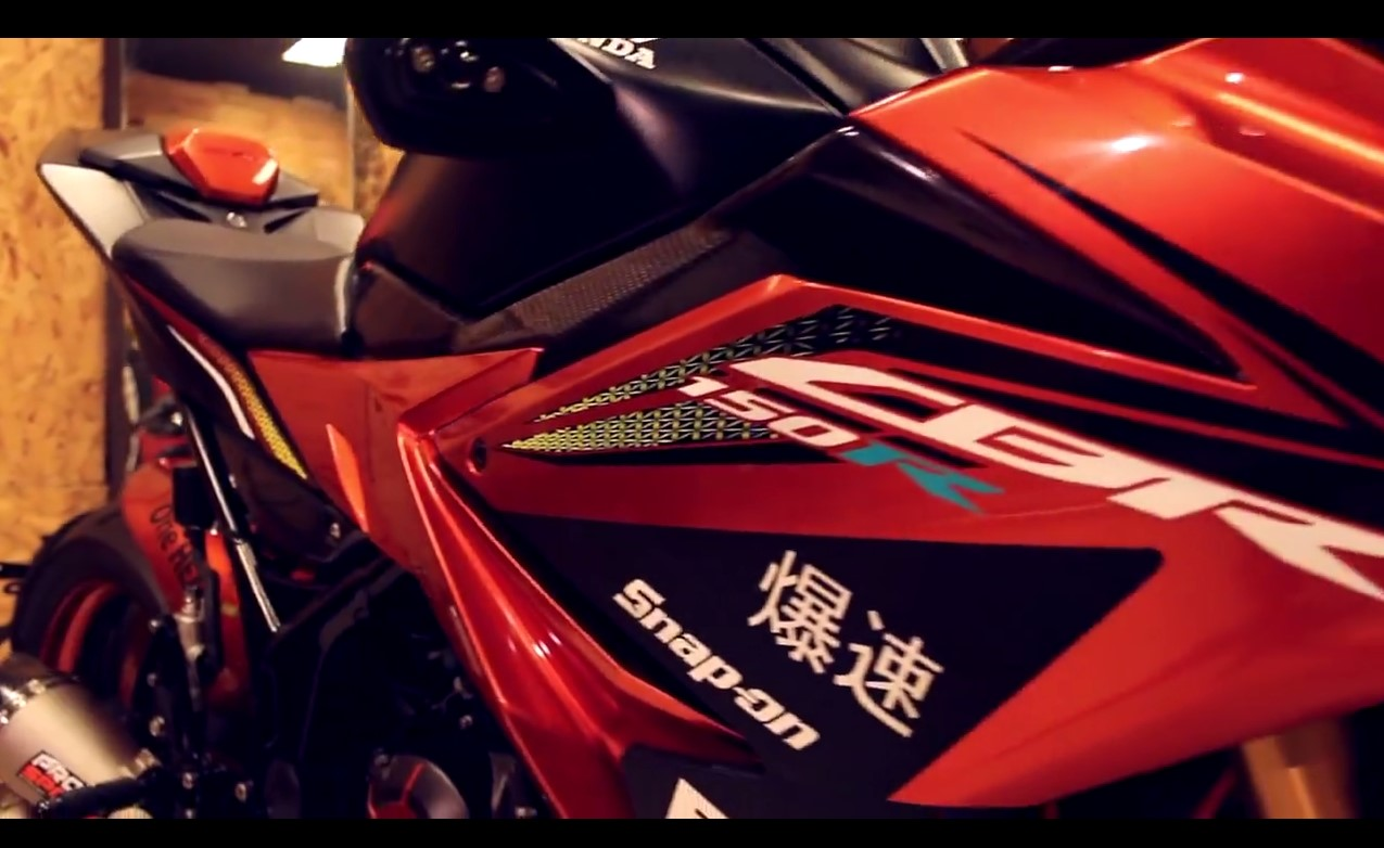 Modifikasi All New  Honda CBR 2016 Keren