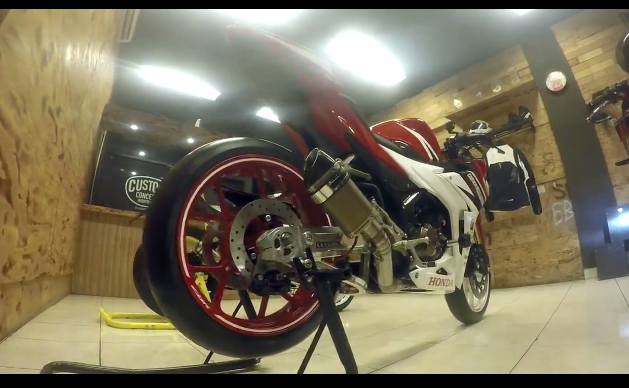 Modifikasi All New Honda CBR 2016