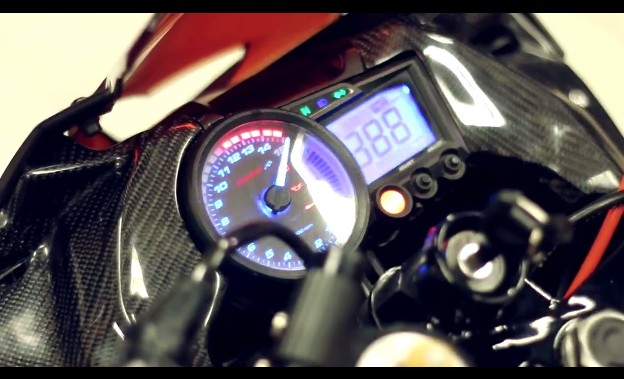 Speedometer Modifikasi Cakram All New Honda CBR 2016