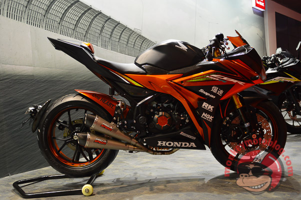 modifikasi all new Honda cbr 150 r 2016 2