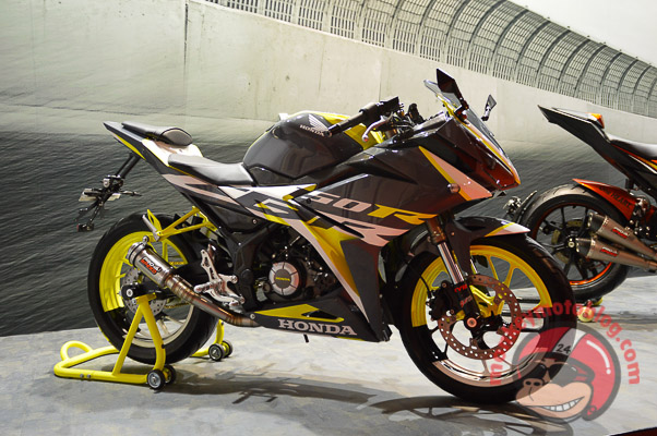 Modifikasi Motor Honda All New CBR 150 R 2016  Modifikasi.co.id