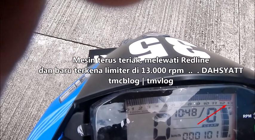 redline New Satria F 150 Injeksi