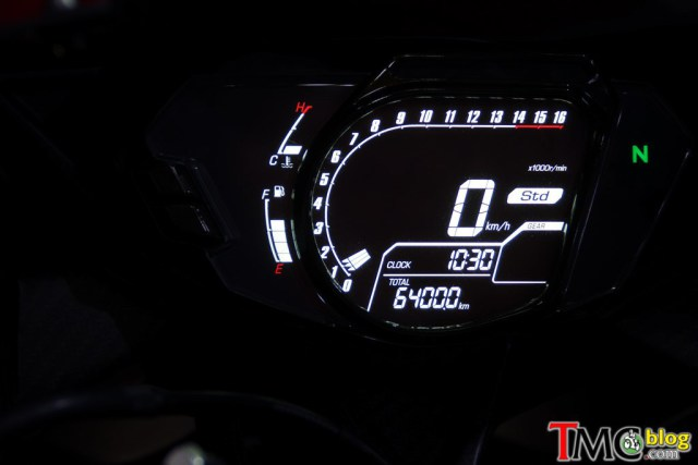 All New Honda CBR 250 RR 2 Silinder Speedometer