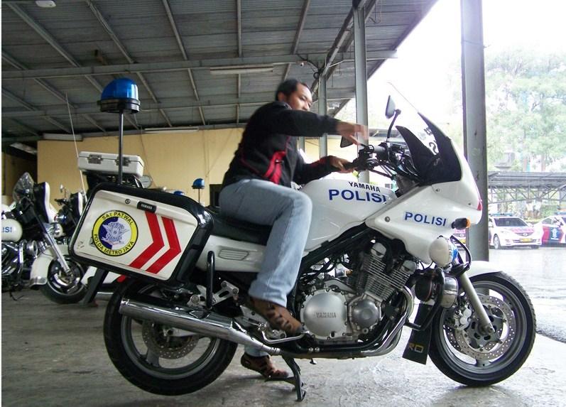 Motor Polisi Indonesia