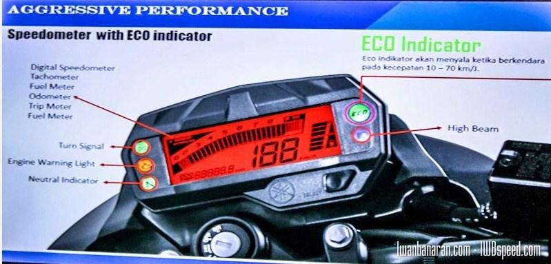 Speedometer Yamaha byson injeksi