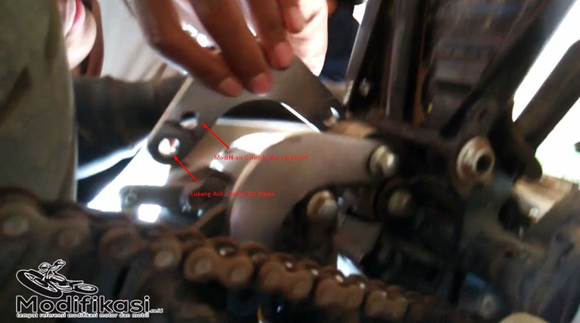 Conrod Motor Vixion