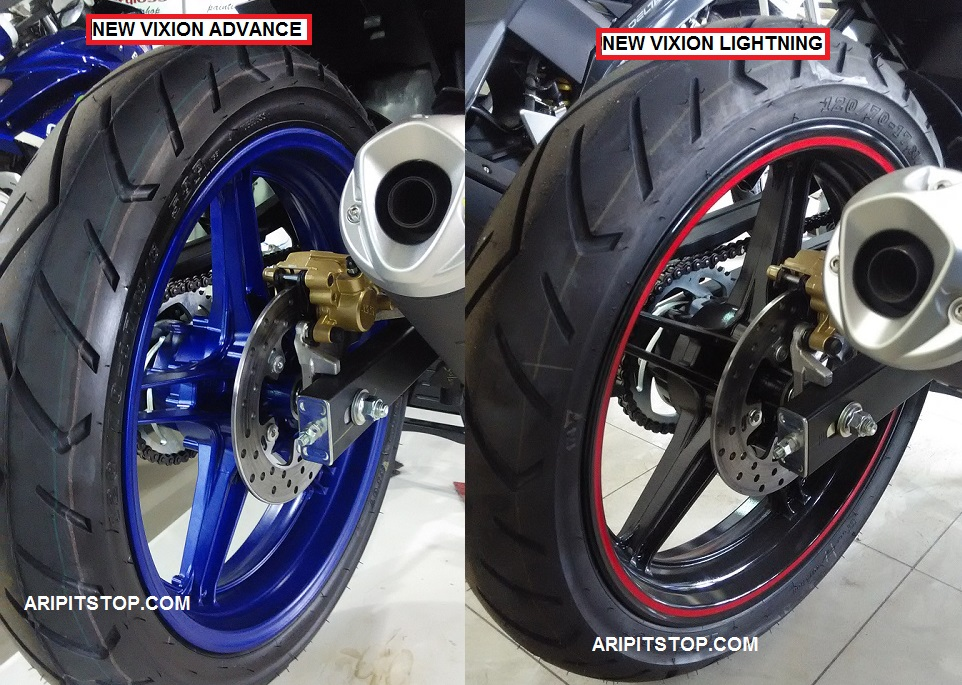 Velg Motor New vixion advanced