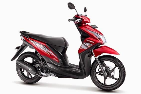 All New Honda BeAT FI CW Red