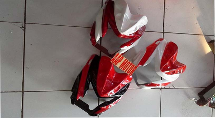 Jual Cover Headlamp New Vixion Lightning