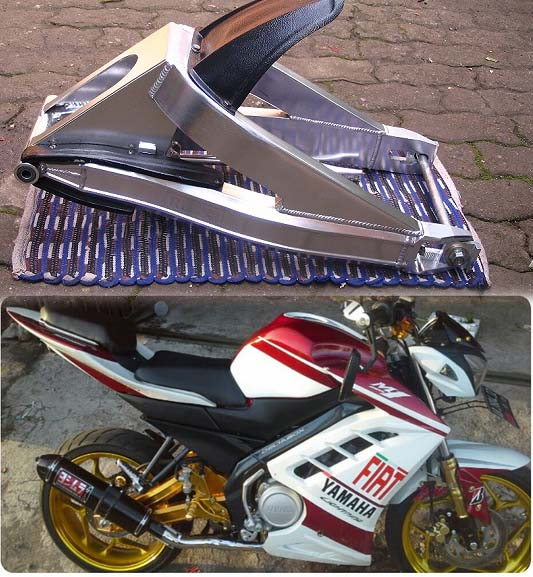 Jual Swing arm high strength alumunium alloy Merk RD RACING