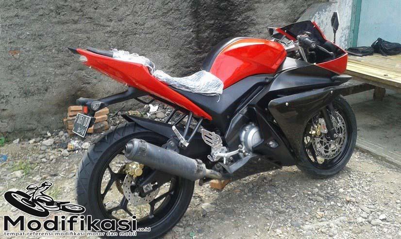 Modif Yamaha vixion Menjadi YZF R125