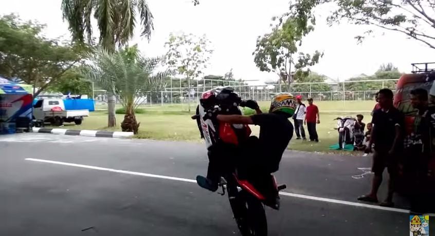 Wheelie Wawan tembong