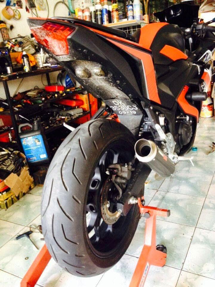 Yamaha R25 Velg 5 inchi