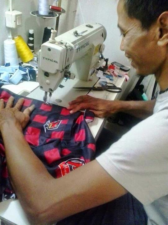 custom jerseys Proses pembuatan
