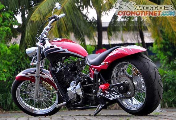 Chopper Bike Modifikasi