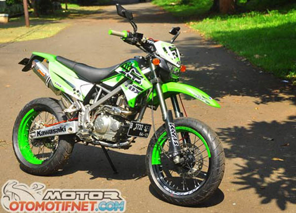 Kawasaki Klx  Modifikasi Motocross