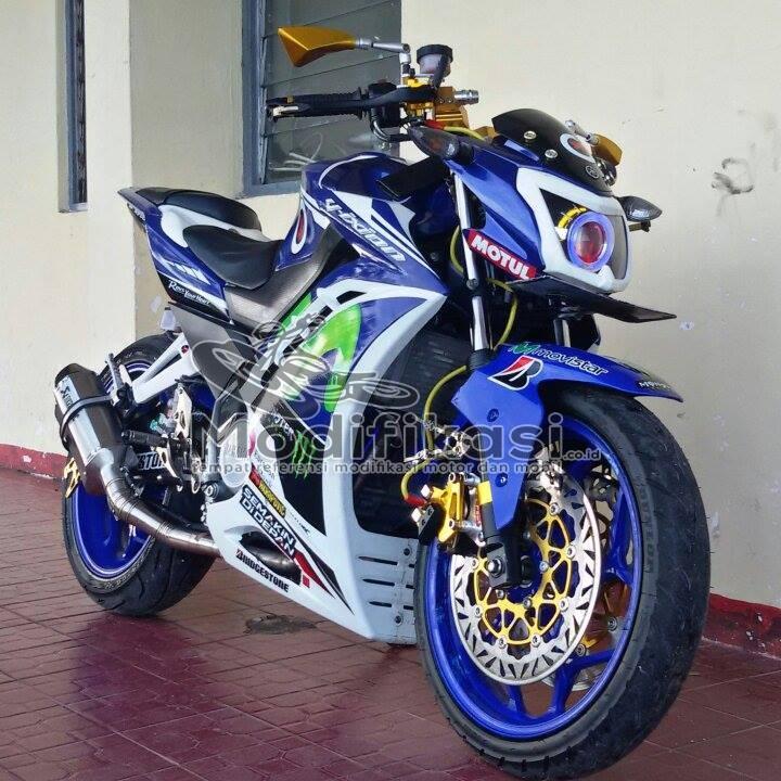 Modifikasi Yamaha New Vixion
