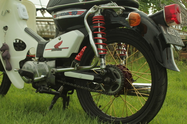 Modifikasi Honda 800 4