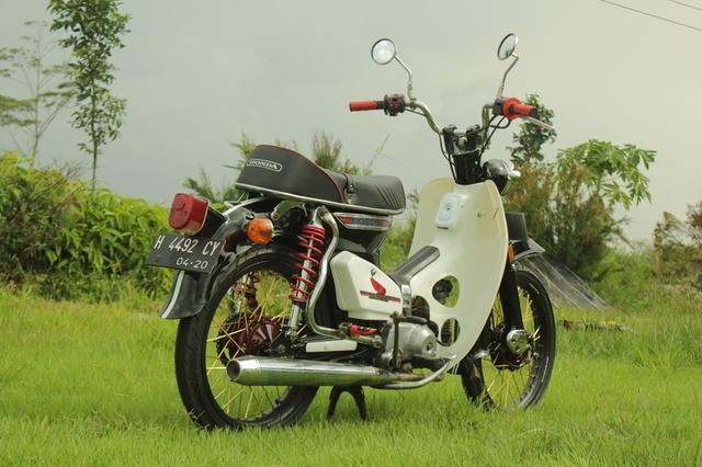 Modifikasi Honda 800
