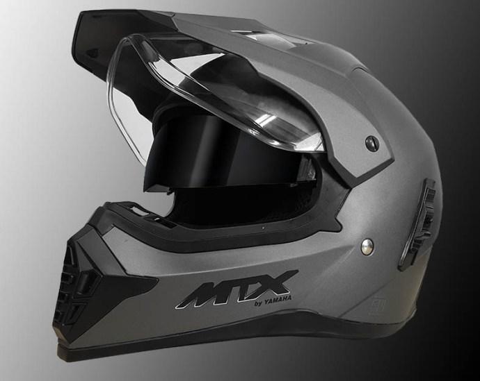 helm-MTX-Matt-grey Terbaru