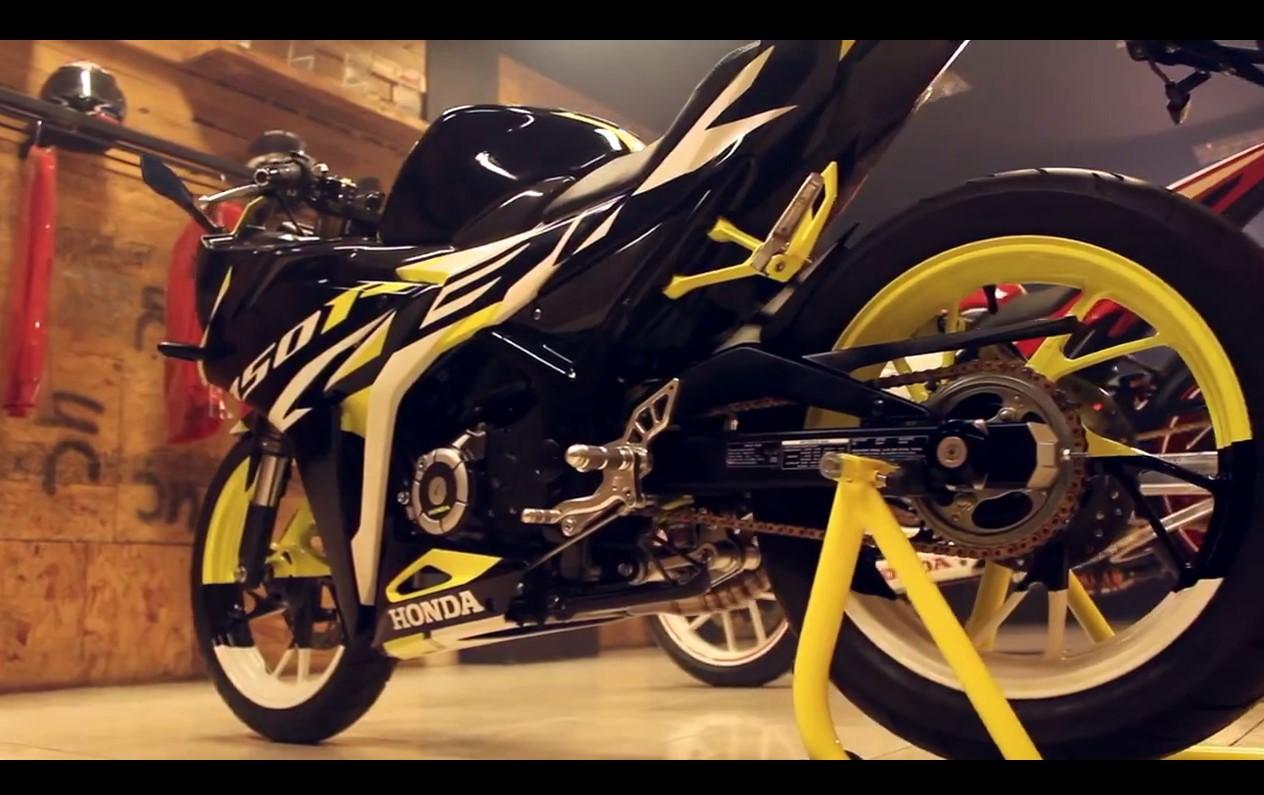 Modifikasi All New Honda CBR 2016 Terbaru