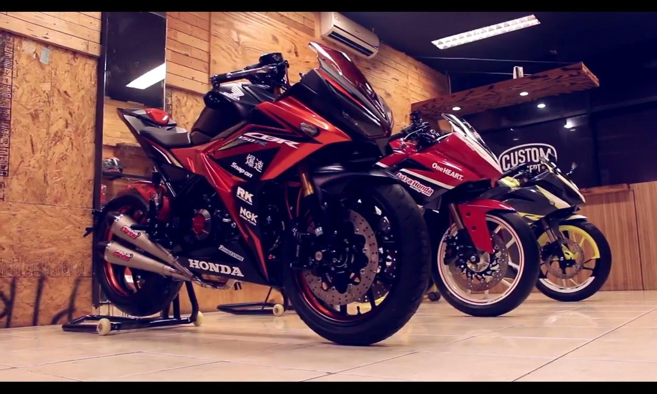 Modifikasi All New  Honda CBR Terbaru Keren