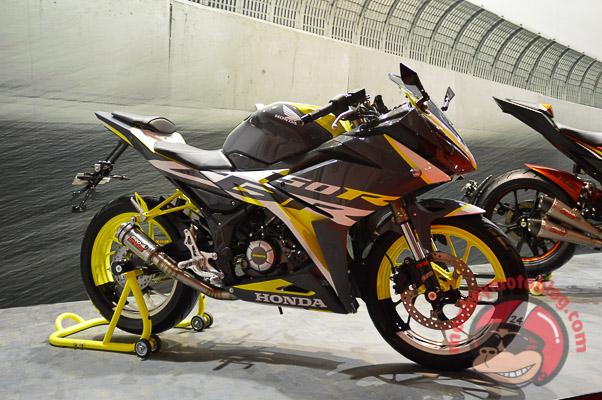 Gambar Modifikasi Motor Honda All New Cbr 150 R 2016