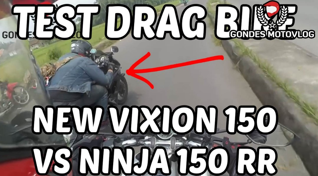 Drag Ninja vs Vixion